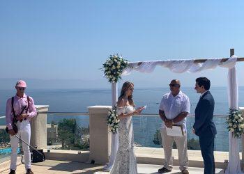 Wedding musician in Greece - Wedding at Corfu